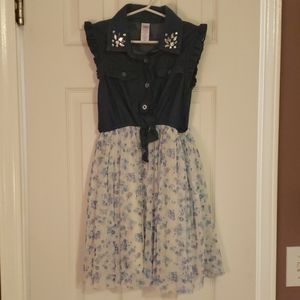 Justice Girls size 6/7 Dress